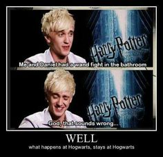 Drarry confirmed