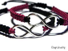 Macrame Infinity bracelets
