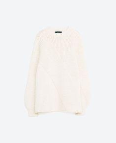 画像 8 の バルーンスリーブ付きセーター ザラから