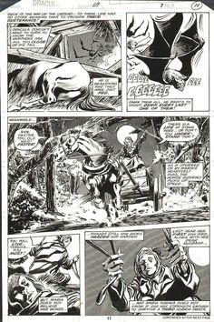 Gene Colan and Tom Palmer Tomb of Dracula #69 Page 11 (1978)