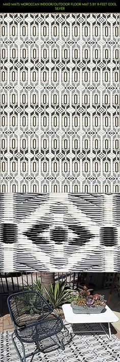 Mad Mats Moroccan Indoor/Outdoor Floor Mat 5 by 8-Feet Cool Silver #camera #technology #cooling #mat #fpv #outdoor #plans #racing #products #shopping #gadgets #kit #tech #parts #drone