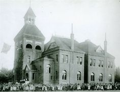 """I attended kindergarten through third grade at this old building, which was deemed """"unsafe"""" in so all fourth-sixth graders were sent to other elementary schools. Redlands California, Fictional World, Old Building, Long Beach, Third Grade, Elementary Schools, Fields, Weapon Storage, Mansions"""