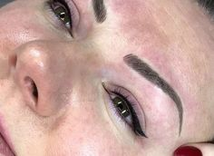 Perfect permanent eyeliner make-up by Mary Spence