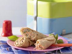 Pfannkuchenrollen - smarter - mit Ziegenfrischkäse und Möhren. Kalorien: 105 Kcal | Zeit: 80 min. #vegetarian