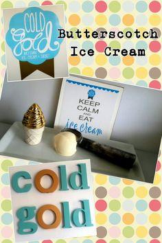 Vanilla Butterscotch #icecream Sorbet Ice Cream, Icecream, Vanilla, Artisan, Cold, Eat, Products, Ice Cream, Gadget