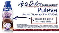 Batido Puleva Light apto dieta Dukan desde Ataque (y también para la Escalera Dukan desde el lunes) Stevia, Ice Cream, Bottle, Drinks, Healthy, Free, Blame, Recipes For Diabetics, Dukan Diet