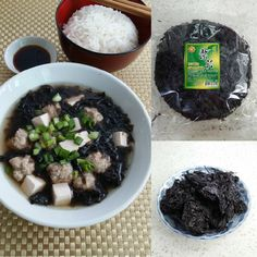 Chinese Seaweed Soup with Pork Balls and Tofu - - Chinese Soup Recipes, Healthy Chinese Recipes, Asian Recipes, Healthy Recipes, Lunch Recipes, Yummy Recipes, Seaweed Soup Recipe, Asian Soup, Asian Cooking