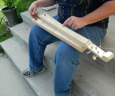 How to Make a Dulcimer Without Power Tools : 6 Steps (with Pictures) - Instructables Dulcimer Instrument, Diy Music Box, Music Boxes, Cigar Box Guitar Plans, Homemade Musical Instruments, Music Instruments, Mountain Dulcimer, Diy Furniture Plans, Minecraft Furniture