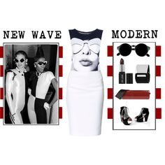 """""""NEW WAVE MODERN"""" by latoyacl on Polyvore"""