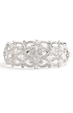 Nadri 'Celtic Knot' Crystal Bangle available at #Nordstrom