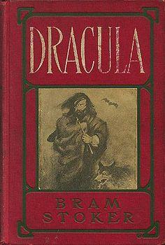 La couverture de l'édition de 1902 est rouge et présente, en médaillon central, un homme, jeune, de type slovaque, accompagné d'un loup, une chauve-souris à l'horizon