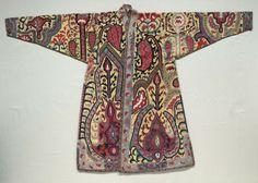Uzbek Coat Uzbekistan (Bukhara),18th-19th century, silk embroidery