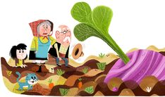 The Giant Turnip on Behance