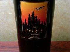 2008 Foris Vineyards Fly-Over Red