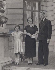 Elizabeth II; Queen Elizabeth, the Queen Mother and King George VI