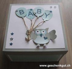 Überraschungsbox Geburt Baby