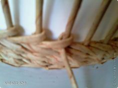 Поделка изделие Плетение Старый узор на новый лад Бумага газетная Трубочки бумажные фото 6