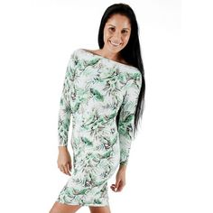 Shakti Shanti - Long Sleeve Dress Top with Rouching Green   Buy Online in South Africa   takealot.com Polyester Spandex Fabric, Maternity Wear, South Africa, Looks Great, Cool Designs, High Neck Dress, Long Sleeve, Green, How To Wear