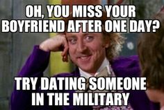 Army girlfriend life!