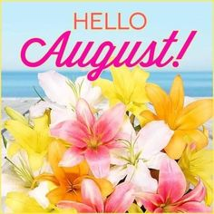 August Baby, Hello November, August Month, New Month, Days And Months, Summer Months, Months In A Year, 12 Months, Good Morning Love