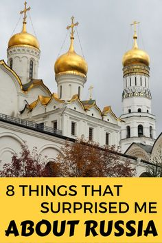 8 surprising things to know before you travel to Russia, with tips on St Petersburg and Moscow