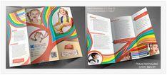 These school brochure design samples will help you to create a wonderful brochure and satisfy your school management or impress your important clients. Brochure Design Samples, Mount Carmel College, Tutoring Flyer, School Brochure, I Love School, Leaflet Design, Bi Fold Brochure, Education Humor, School Design