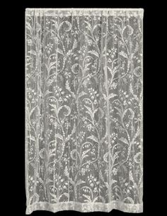 Heritage Lace Coventry Curtains, Panels, Tiers, Runners, Scarves and Valances White Lace Curtains, Lace Curtain Panels, Panel Curtains, Linens And Lace, Lace Making, Coventry, Drapery, Window Treatments, Home