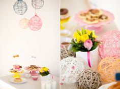 A cozy bridal shower ~ Featured on Styled!