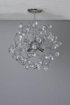 Lila Sputnik Flush Ceiling Light | BHS