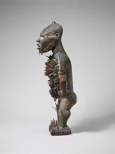 Songye Nkisi Nkondi (Nail Power) Figure, Congo