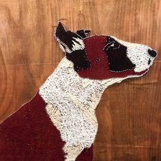 Bull Terrier String Art