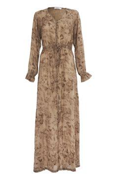 Aab UK Flora & Fauna Button Down Kimono : Standard view