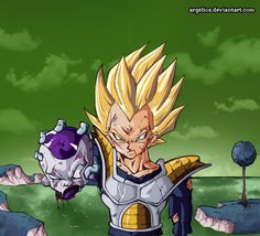 Dragon Ball Z Lightning Dragon Ball Z, Fanart, Dbz, Hero Fighter, Kurama Naruto, Manga Dragon, Wolf, King Kong, Comic Art