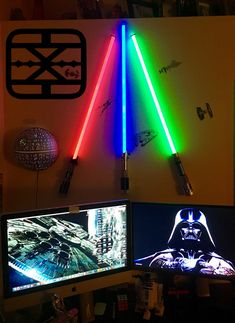 Lightsaber wall mount fits custom sabers thetasabermounts lightsaber wall mount saber stand star wars fx by thetasabermounts mozeypictures Images