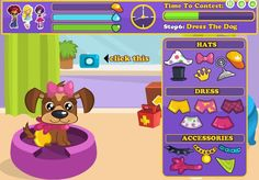Do you have the most beautiful dog? Send the picture of your dog and maybe your dog will be rewarded for her beauty! #dog #pet #beauty #contest #game http://www.funnygames.biz/game/pretty_dog_contest.html