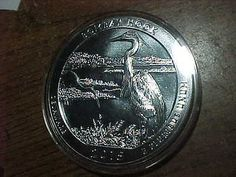 2015 5 Oz Silver Coin America the Beautiful Bombay Hook Wildlife Refuge/Delaware