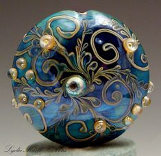 Fine Lampwork by Lydia Muell, Gallery of Lampwork Focal Beads by carter flynn
