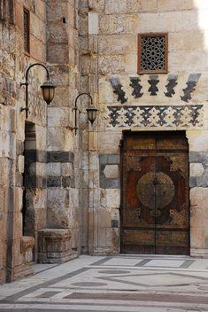 Africa | Mosque of Barquq, Cairo. Egypt.  © David Lewis