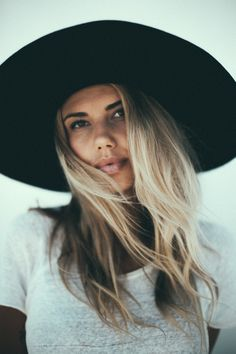 Sahara Ray - wearing lack of color Shot by: Jenavieve Belair