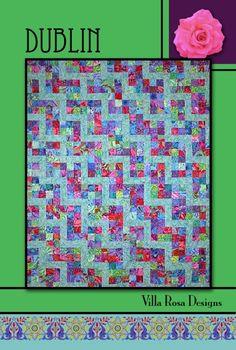 Dublin Quilt Pattern by Villa Rosa Designs