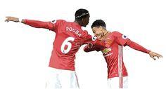 Pogba Lingard - Manchester United - Dab