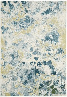 The Watercolor collection range from playful to bold, striking color palettes that lends to modern rug perfect for any room.