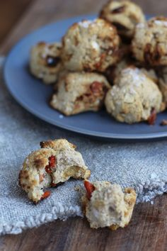 Quinoa and goji berry breakfast cookies.  Made with coconut flour and quinoa, so gluten free.