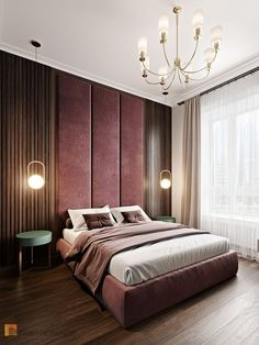 Home Decoration Decor Stunning, modern and contemporary bedroom design projects. Modern Luxury Bedroom, Luxury Bedroom Design, Master Bedroom Design, Contemporary Bedroom, Luxurious Bedrooms, Home Bedroom, Bedroom Decor, Interior Design, Bedroom Ideas