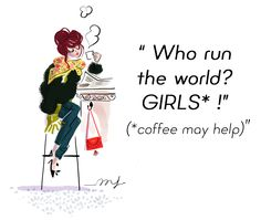 Have a nice week-end ! Positiv Quotes, Estilo Hippy, Paris Girl, Girl Sketch, Fashion Wall Art, Jolie Photo, I Love Coffee, Cute Images, Cute Illustration