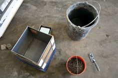 This Instructable will show you how to make concrete boxes using cardboard and duct tape. This example is a planter, but they could also be useful as storage...