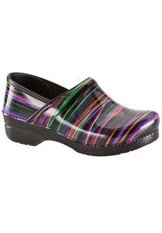 Dansko Professional Wired Patent Nursing Shoe, # item #98456, $135. Tried on the 38- too small, felt like walking on a block of wood...try on the 39