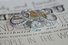 """This may just be my favorite thing; 3 bands. A promise between God, you, and your husband. """"A cord of three strands is not quickly broken."""" Ecclesiastes 4:12"""