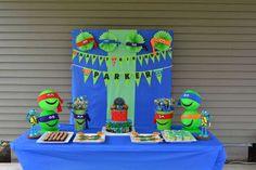 Teenage Mutant Ninja Turtles Birthday Party Ideas | Photo 12 of 37 | Catch My Party