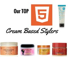 5 Best Cream Based Stylers for Natural Hair  Read the article here - http://www.blackhairinformation.com/products-2/5-best-cream-based-stylers-natural-hair/